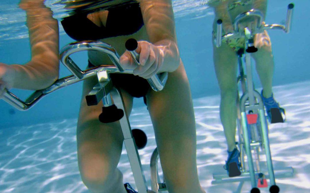 Plus d'Aquabike, plus de muscles, moins d'arthrose !